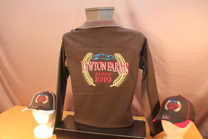Lewton farms embroidered jacket