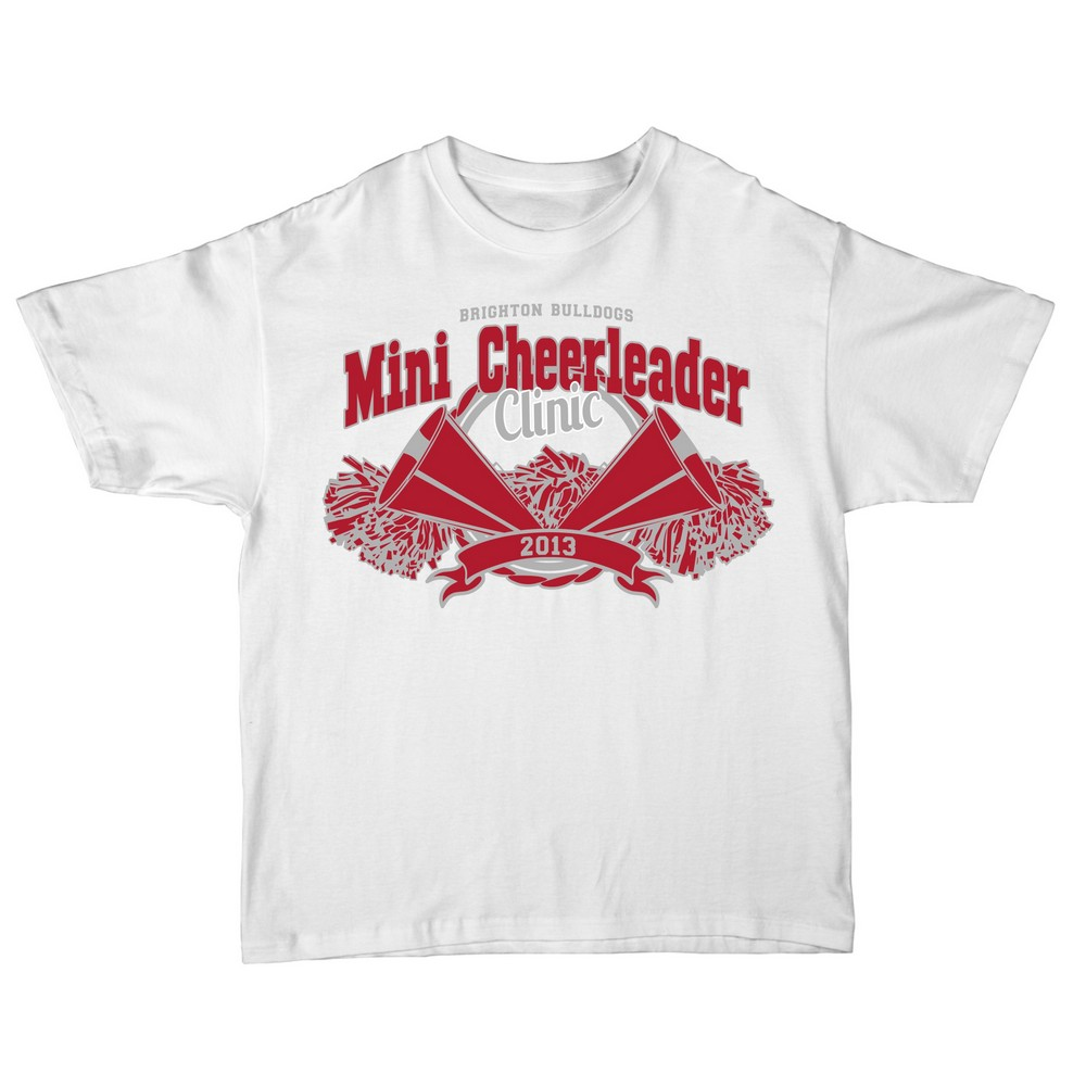 Shirts for Mini Cheerleader Camp