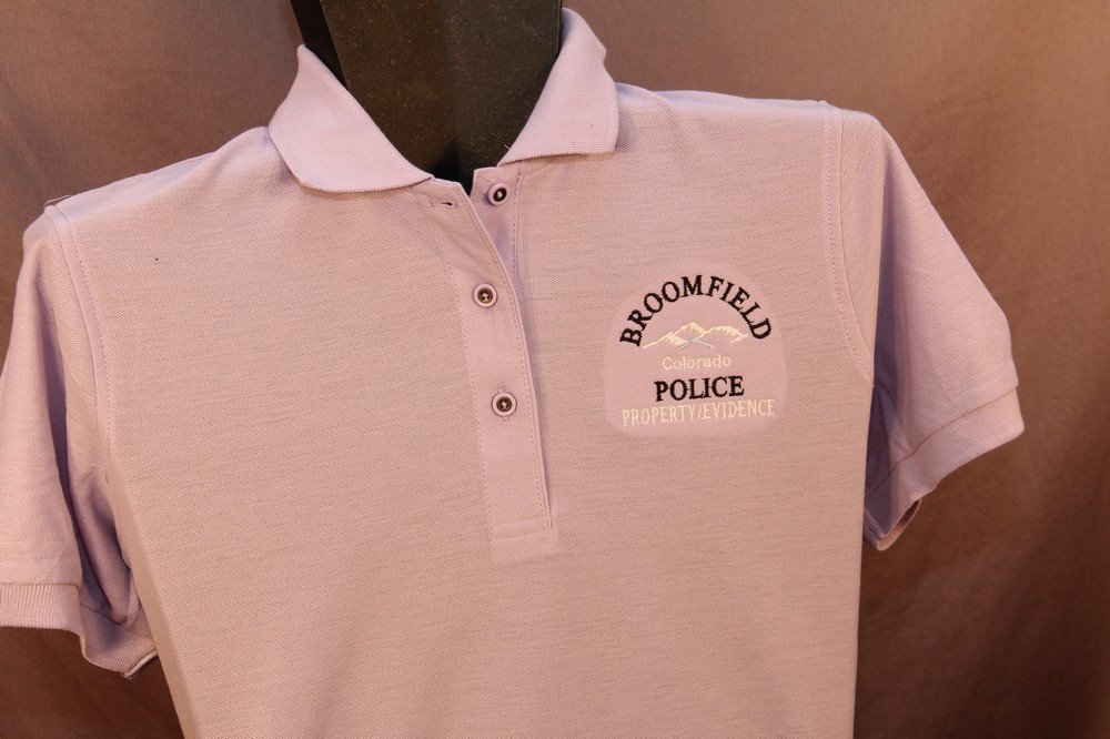 Broomfield PD Property Evidence Shirts
