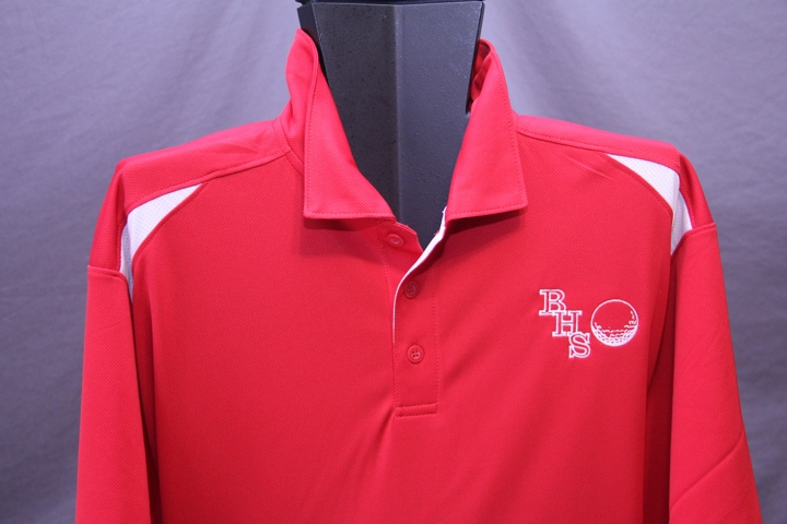 Custom Embroidered Golf Shirts !