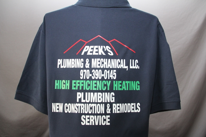 Need a Plumber ? (I made His Shirts!)